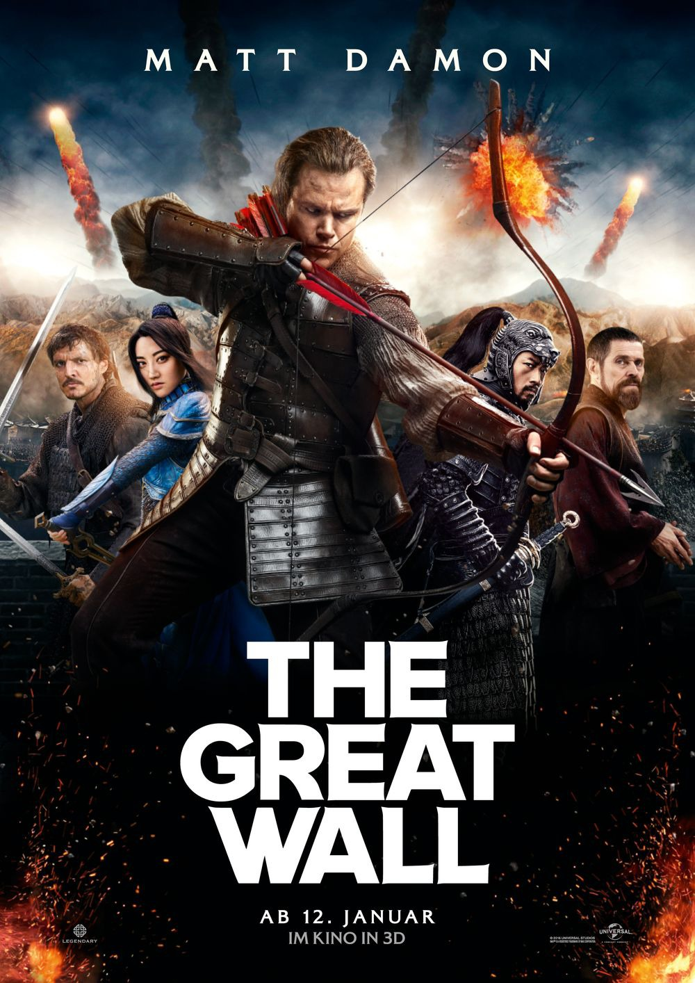 Nonton Film The Great Wall (2016)