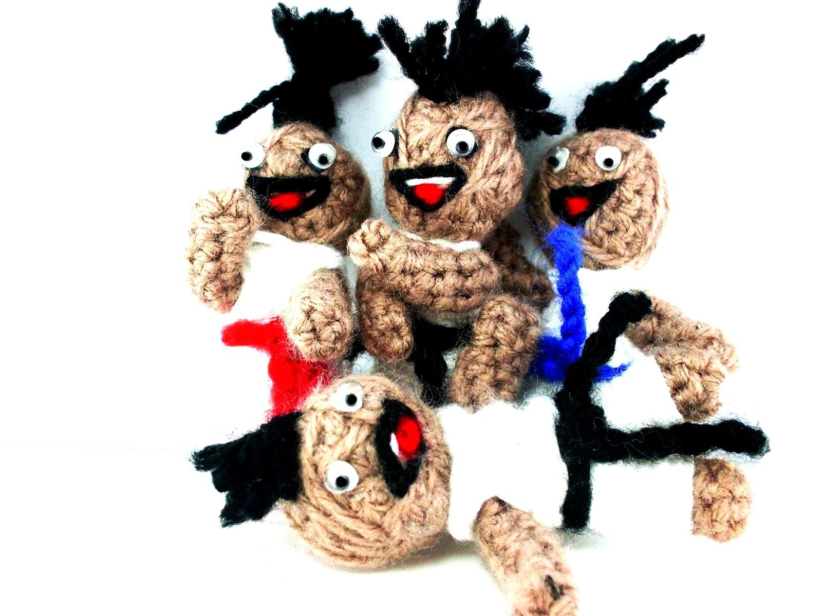 Voodoo Judo Puppe