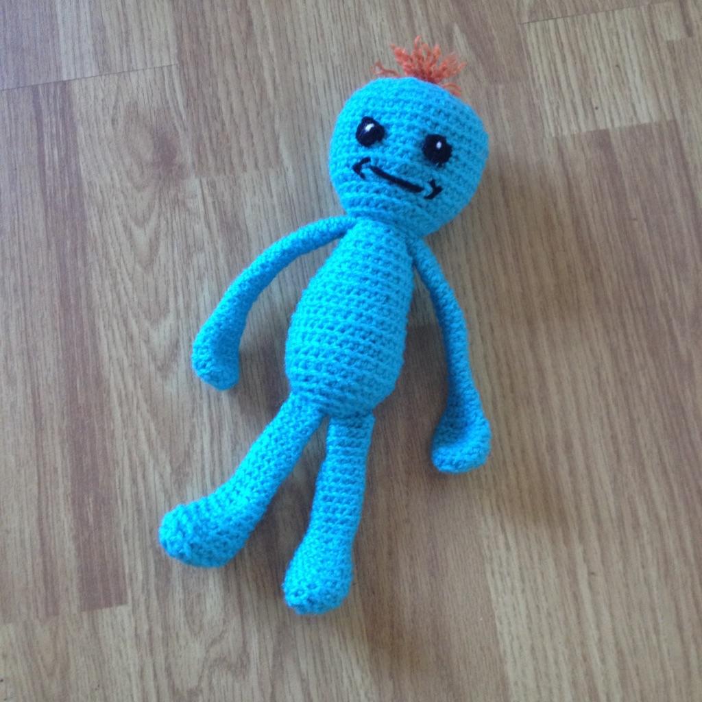 Ganchillo hecho a mano Rick Sanchez Pilot Rick y Morty   Crochet ...   1024x1024
