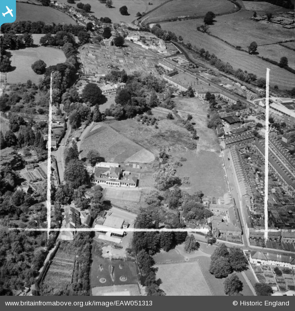 Aerial Photo of Greenway Convent Collegiate School (1953)