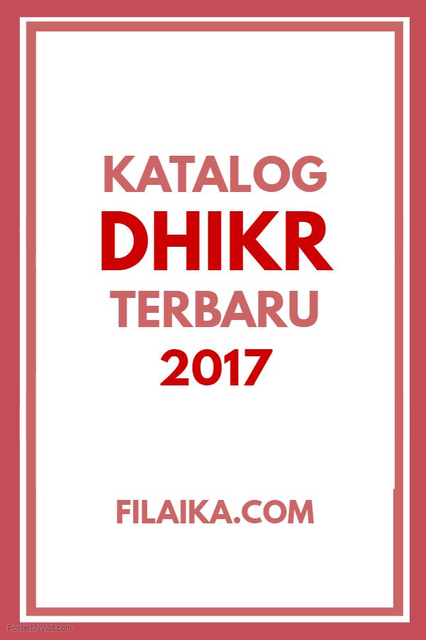 Katalog Dhikr 2017