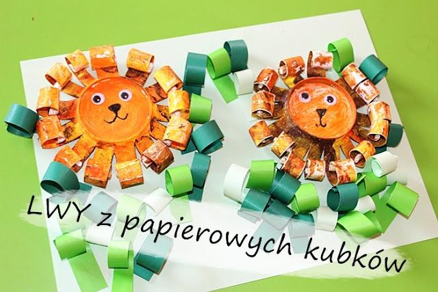 http://www.kreatywniewdomu.pl/2019/06/lew-z-papierowego-kubeczka.html