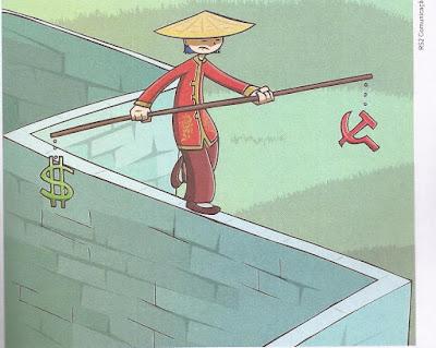 Resultado de imagem para globalização chinesa charge