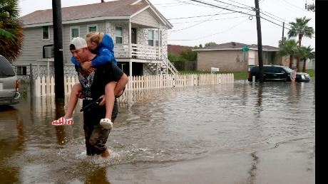 """Heavy Rainfall from Tropical Depression Imelda causes flash flooding in Texas  Heavy Rainfall from Tropical depression Imelda has caused confusions and made many people homeless in Texas located in the United States.    A business owner said,  """"this is a repetition of Harvey, but worse."""""""