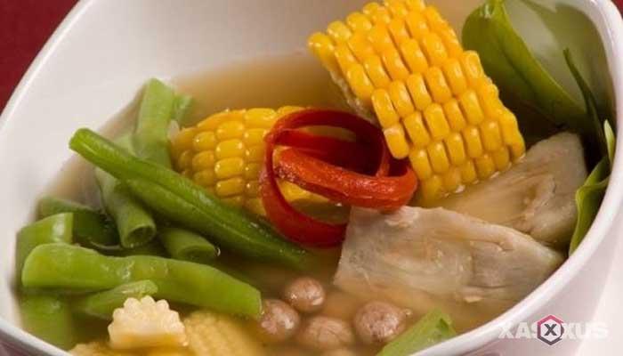 Resep cara membuat sayur asem bening sederhana