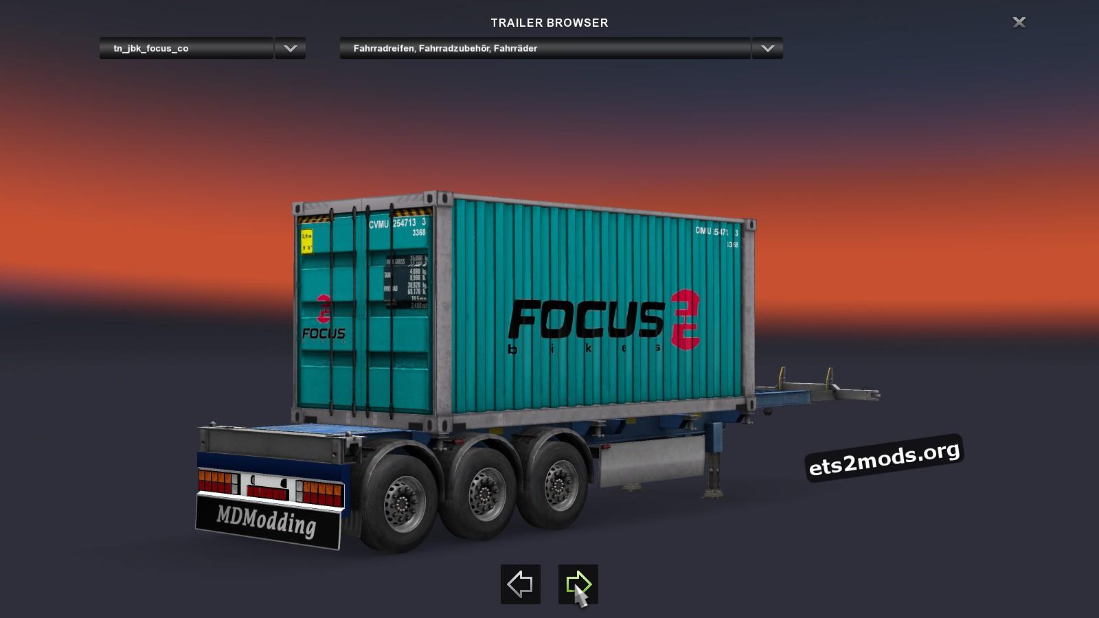 Container Pack - Fahrrad