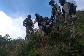 KKB Mengamuk di Sugapa Intan Jaya, Serka Sahlan dan Badwi Tewas