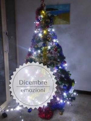 dicembre un mese ricco di emozioni: albero di Natale