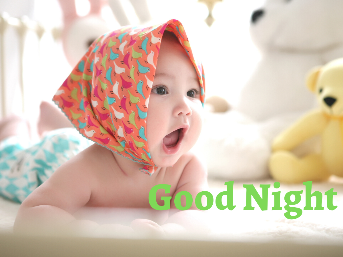 Cute Baby Good Night Images pictures hd download