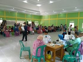Vaksin Masal Desa Kedotan, Masyarakat Sambut dengan antusias