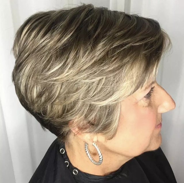hairstyles for women over 60 with thin hair