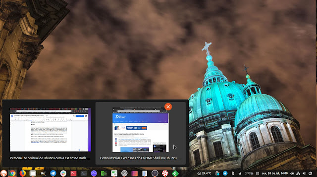 extension-extensão-gnome-shell-barra-tarefas-windows-kde-cinnamon-dash-to-panel-ubuntu-fedora