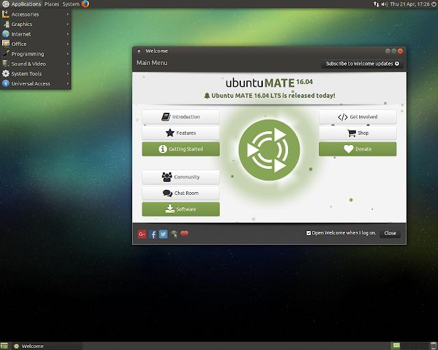 Lançado o Ubuntu MATE 16.10 Beta 1, que comecem os testes!