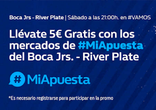 william hill Promo Boca vs River 11 noviembre