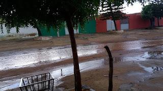 Chuva em Nova Floresta; parte da cidade ficou sem energia elétrica