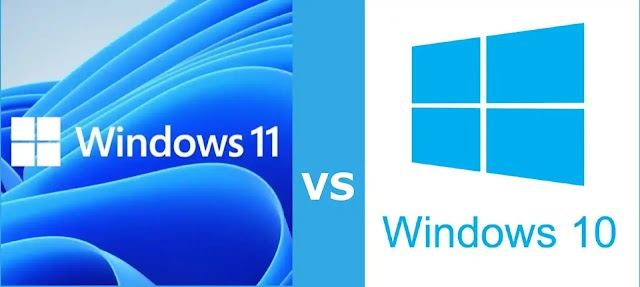 What's the difference between Windows 10 and Windows 11?
