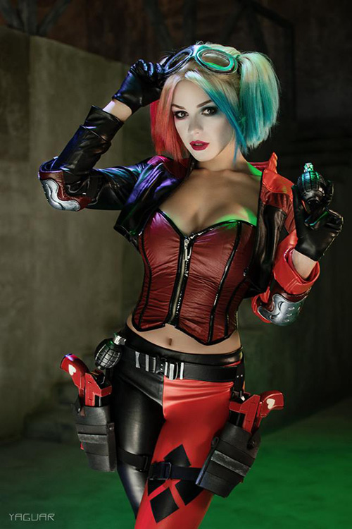 La cosplayer Irina Meier nos trae su version de Harley Quinn de Injustice 2