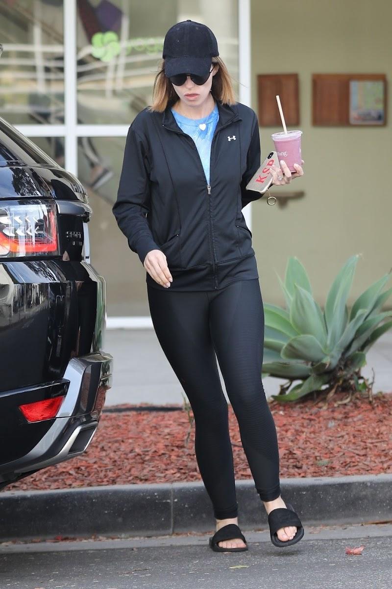 Katherine Schwarzenegger After Pilates Class in Brentwood 2 Jan-2020