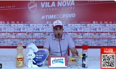 Presidente do Vila Nova relata cobranças logo após o acesso, confira a entrevista!