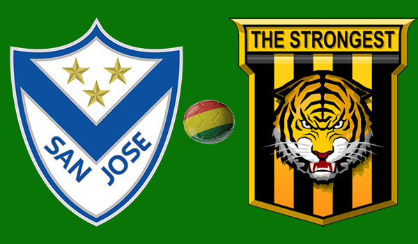 En vivo San José vs. The Strongest - Torneo Apertura 2018