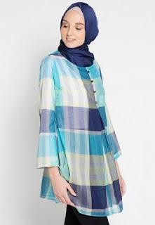 Model baju muslim atasan kerja