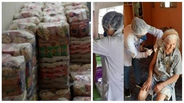 Ação Social: Prefeitura de Cacimba de Areia doa cestas básicas, mantém aluguel social e ações de Saúde