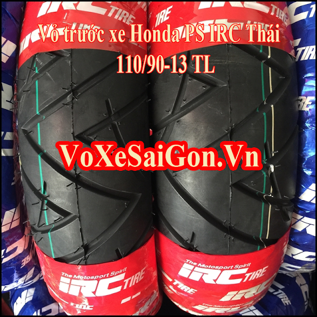 Vỏ trước xe Honda PS IRC Thái 110/90-13 TL