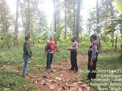Cegah Karhutla, Polsek Limpung Laksanakan Patroli Dan Sosialisasi