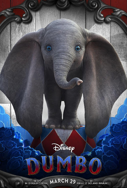 "From Disney and visionary director Tim Burton, the all-new grand live-action adventure ""Dumbo"""