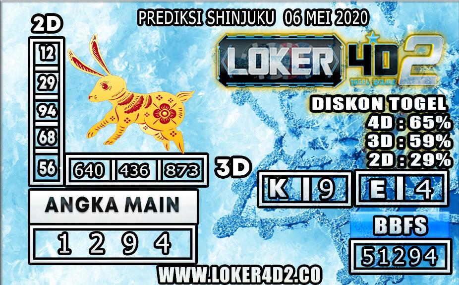 PREDIKSI TOGEL SHINJUKU LUCKY 7 LOKER4D2 06 MEI 2020