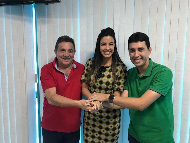 Ex-prefeita Irene Soares declara apoio a pré-candidatura de Daniella Tema para deputada estadual.