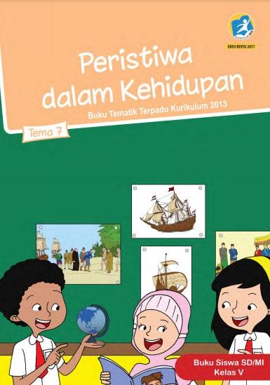 Buku Siswa Kelas 5 Tema 7 Revisi 2017 Kurikulum 2013