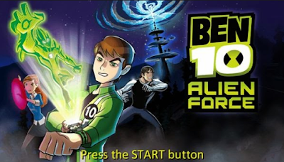 Download Ben 10 – Alien Force PSP ISO (USA) for Android PPSSPP High Compress Full Version 2018 - JemberSantri