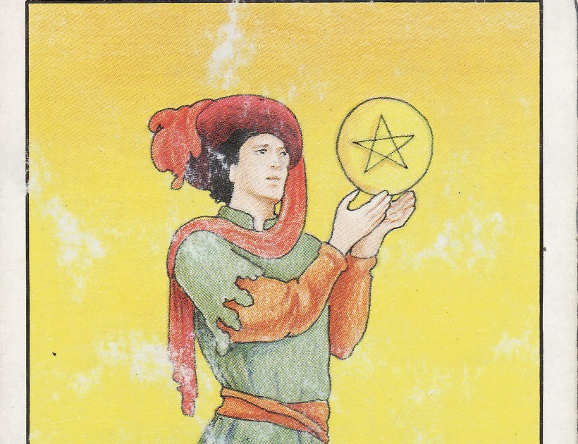 TAROT - The Royal Road: PAGE OF PENTACLES