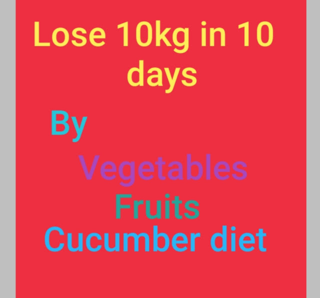 Lose Weight With Fruits & How To Lose 10kg In 10 Days
