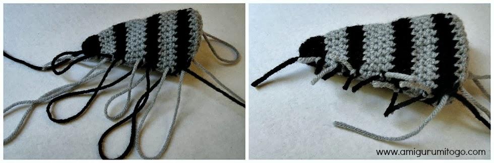Gray Bandit Raccoon Handmade Amigurumi Stuffed Toy Knit Crochet ... | 324x980