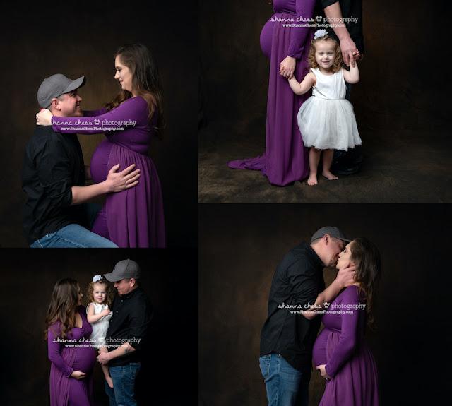 maternity photos with family eugene oregon