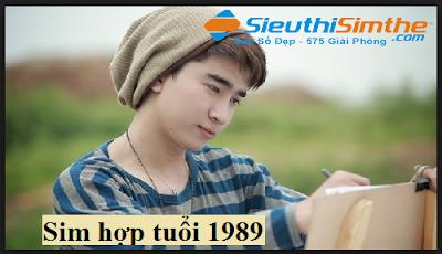 Sim hợp tuổi 1989