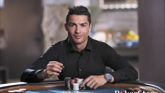 Cristiano Ronaldo, la última incorporación de Pokerstars