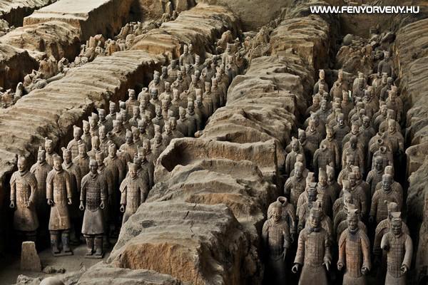 Csin Si Huang Ti sírkamrája, Kína