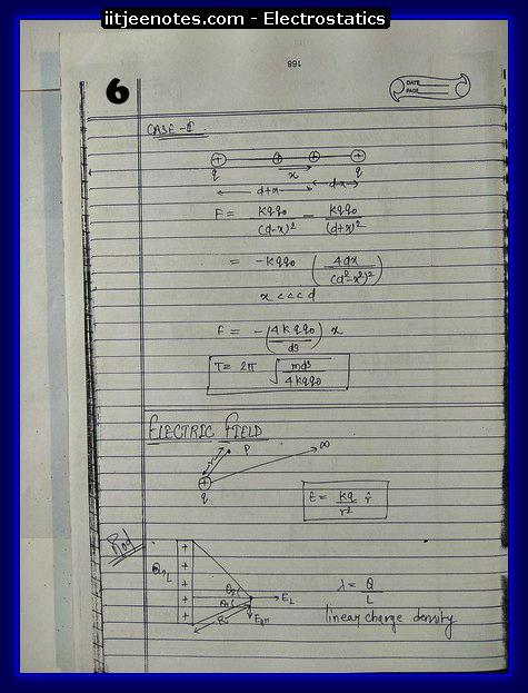 Electrostatics 6