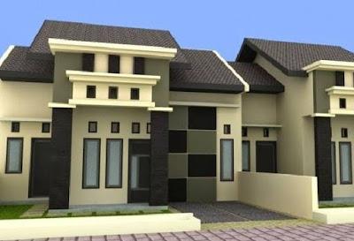 rumah modern minimalis perkotaan