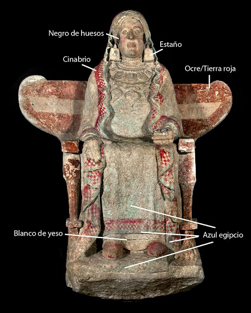 In southern Spain, an iconic sculpture's true colours shine through 2,400 years later