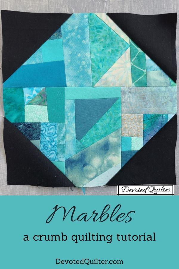 Marbles quilt block tutorial | DevotedQuilter.com