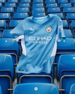 قميص مانشستر سيتي الجديد 2022