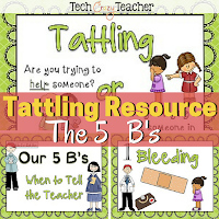How to stop students from tattling