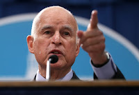California Governor Jerry Brown (Photograph Credit: Justin Sullivan | Getty) Click to Enlarge.