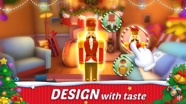 تنزيل لعبة Design Island للاندرويد مهكرة العملات الذهبية والنجوم تزيد اخر اصدار