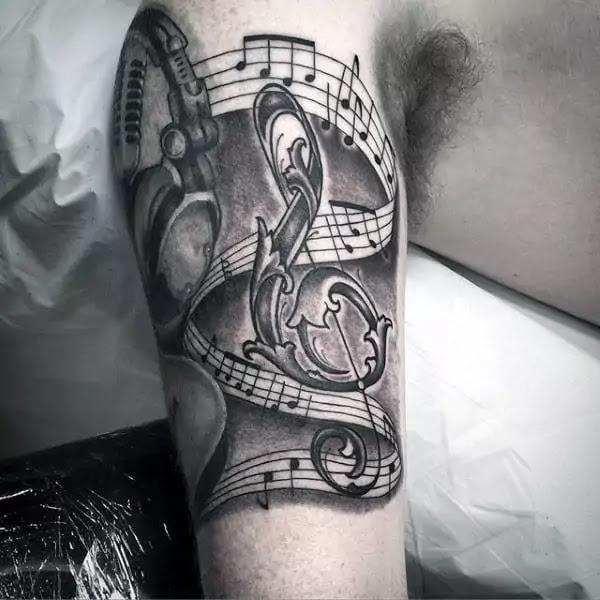 Forearm Tattoo Music Design 1080x1750 2021