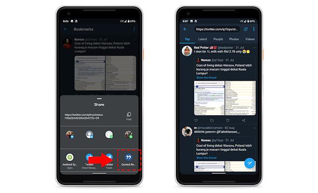 Cara Lihat Semua Quote Reply Dengan Mudah Di Twitter